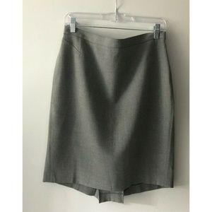 Ann Taylor LOFT Gray Pencil Skirt Size 10 EUC